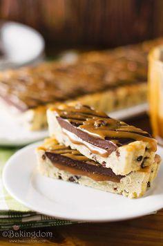 Gooey Salted Caramel Chocolate Truffle Tart by Bakingdom