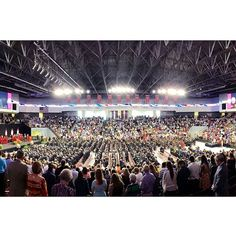 Troy University alumnus and former commander of NORAD and the United States Northern Command Gen. Victor E. Renuart, Jr., addressed the more than 700 graduates representing 24 states and 14 nations at the May 9, 2014 commencement ceremony at Trojan Arena on the Troy Campus.