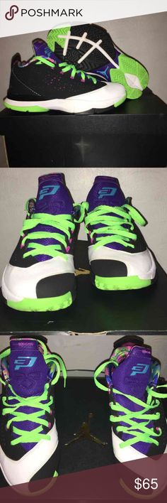 Jordan CP3 Jordan CP3 size 7 fits both women's 7 and kids 7; super clean great colors Jordan Shoes Athletic Shoes