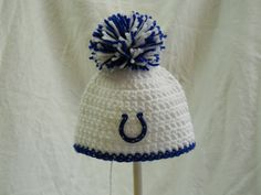 Indianapolis colts baby hat