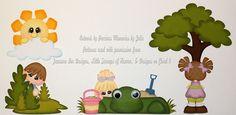 ELITE4U PMBY JULIE CHILD paper piecing set/kit premade scrapbook pages album