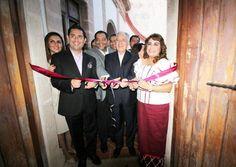 Inauguración de la exposición Muestra del museo de plata en Taxco, en las instalaciones de Casa Borda. #29JornadasAlarconianas