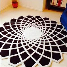 Round Handmade 120cm European Style Carpets For Living Room Home Bedroom Rugs And Carpets Coffee Table Area Rug Bedside Carpet