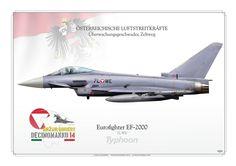 ÖSTERREICHISCHE LUFTSTREITKRÄFTE . AUSTRIAN AIR FORCE Überwachungsgeschwader, Zeltweg 2014 Air to Air Gunnery, Decimomannu AWTI range (Sardinien, Italien)