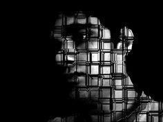 Black & White Expo (Digital Photo) by Carlos Campos Darth Vader, Black And White, Digital, Blanco Y Negro, Black N White
