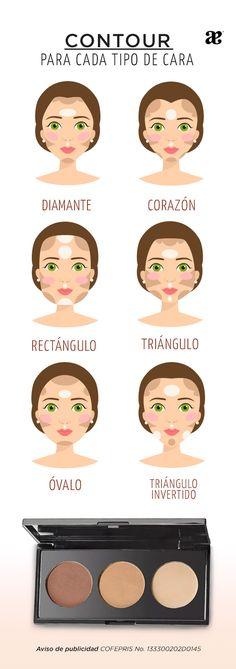 El #makeup #contour es una gran ayuda para definir nuestros rasgos y estilizar nuestra cara para vernos fantásticas, conoce cómo debes aplicarlo #tutoriales
