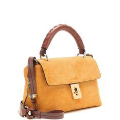 mytheresa.com - Tasche Fedora aus Veloursleder - Handtaschen - Taschen - Chloé - Luxury Fashion for Women / Designer clothing, shoes, bags
