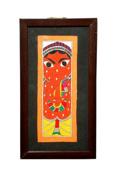 Exclusive Madhubani Painting -Lord Ganesha for $35 #crafts#indian crafts.  Visit www.indiancraftsworld.com for exclusive collection of Indian Handicrafts,