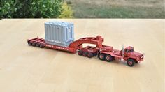 Roger Sherman Mack DM800 Heavy Haul Truck Tractor & Lowboy
