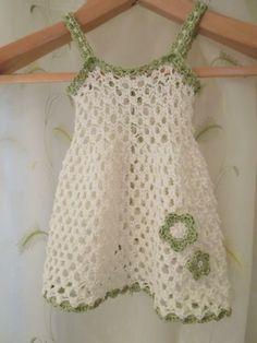 Baby Girl Spring Dress - via @Craftsy