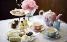 The 5 O'Clock Tea Club at John Lewis, Oxford Street, features Jubilee-themed cakes, scones and sandwiches.