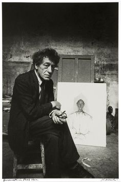 Robert Frank- Giacometti in Paris, 1962