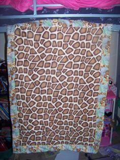 Back of Carter's quilt