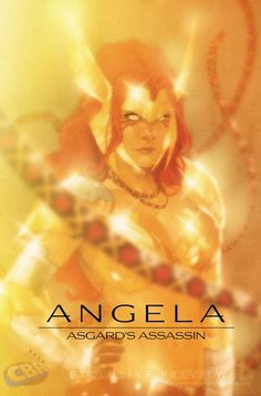Marvel's Retro Style Photo Variant Cover - Angela: Asgard's Assassin by Phil Noto *