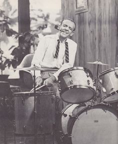Fred Astaire on drums -- in Daddy Long Legs