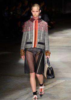 ce8d3328a PRADA, Sfilate • Milano Moda Donna S/S 2016 Prada Spring, Harpers Bazaar