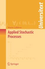 Applied Stochastic Processes | Mario Lefebvre | Springer