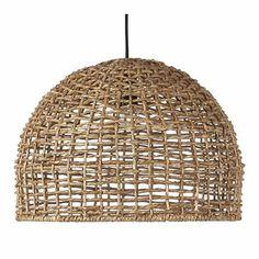 Cebu taklampa - korglampa  Rustikaste lampan, för moderna och lantliga rum. Flätad rotting. Rustik och lätt takskärm med stort spridningsljus