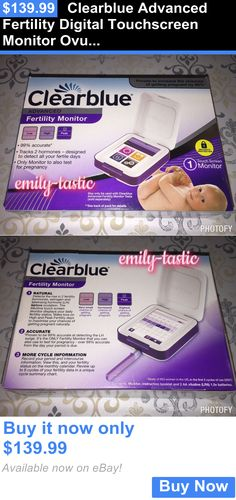 Fertility Monitors and OPKs: Clearblue Advanced Fertility Digital Touchscreen Monitor Ovulation Pregnancy New BUY IT NOW ONLY: $139.99