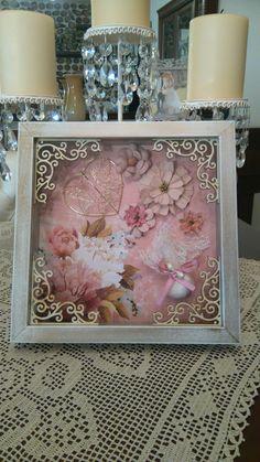 Wedding Memorial, Christening, Mixed Media, Decorative Boxes, Arts And Crafts, Memories, Frame, Diy, Home Decor