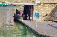 Paris Parc de La Villette, Canal de l'Ourcq 3