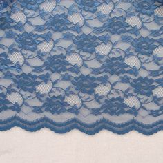 bff Twilight Blue Lace Fabric, 100% Nylon, $9.99 per yard