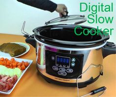 Choose digital slow cooker according to your kitchen interior and make a perfect match with your other stuff of the kitchen. www.best-slowcooker.co.uk/digital-slow-cooker.html Uk Digital, Best Slow Cooker, Perfect Match, Kitchen Interior, Crockpot, Healthy Slow Cooker, Crock Pot, Decorating Kitchen