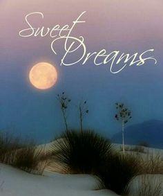 Felices Sueños a todos... y el deseo de una Gran Semana!!!