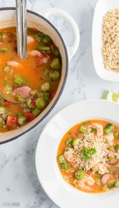 Skinny Low-Country Gumbo: 242 calories | 5 SmartPoints