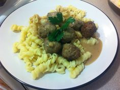 Sweden: Swedish Meatballs (With Pasta)