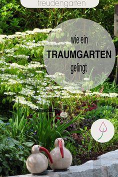 Ideen für einen Traumgarten: Liebe zu Pflanzen, Garten und Dekoration als Geheimnis der Gartenplanung. Besuch bei einer Gartenfreundin.