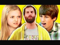 KIDS REACT TO EPIC MEAL TIME - YouTube