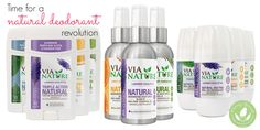 Mommy Greenest Approved Via Nature Natural Deodorant + Giveaway!