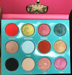 "Juvias Place ""The Saharan Palette""."