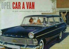 Opel Rekord Caravan P2  brochure