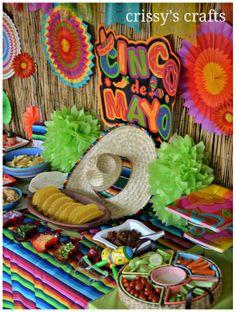 Crissy's Crafts: Fiesta Party - Cinco de Mayo