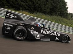 Revolutionary Nissan Deltawing racecar
