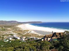 Noordhoek Beach - An expensive beach located near Cape Town, South Africa. Only miles) from the center of Cape Town, Noordhoek beach is amazing and ide Most Beautiful Cities, Beautiful Places To Visit, Beautiful Beaches, Dorset Travel, Weymouth Beach, Beautiful Landscape Pictures, Clifton Beach, Cape Town South Africa, Beach Town