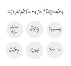80 Instagram Story Highlight Covers for Photographers   Etsy Story Instagram, Free Instagram, Text Icons, Handwriting Styles, Custom Icons, Story Quotes, Beige Background, Handwritten Fonts, Gift Quotes