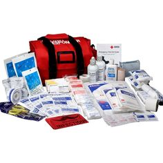 First Aid Only First Responder Emergency First Aid Kit, 159-Piece Bags ($115) ❤ liked on Polyvore featuring first-aid kit