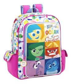 Ghiozdan Inside Out Disney Inside Out, Vice Versa, Bookmarks Kids, Romania, Backpacker, School Bags, Suitcase, Ebay, 9 Year Olds