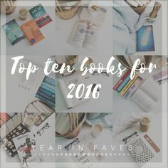 TOP 10 BOOKS FOR 2016