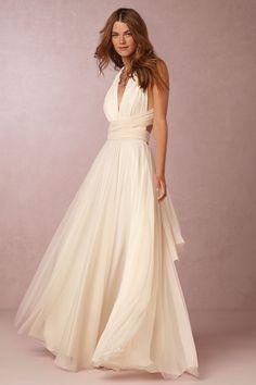BHLDN Ginger Convertible Maxi Dress in  Bridesmaids Bridesmaid Dresses Long at BHLDN