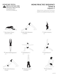 Home Practice Sequence Level II Sequence 3 | Iyengar Yoga Institute of New York