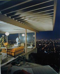 ARTIST:  Julius ShulmanTITLE:  Case Study House #22, Playboy (Pierre Koenig, architect, 1960)MEDIUM:  recent chromogenic printSIZE:  h: 24 x w: 20 in