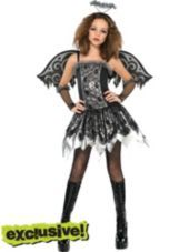 Girls Fallen Angel Costume - Party City I want to where this tell me. Should I? Please Please tell me if I should!!! Look at my profile pic if you need now do it now!!!!!!!!