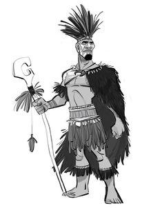 Borja Montoro                                    Character Design: Moana 03