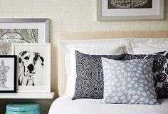 Black & White Bedroom Decor