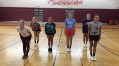 Routine 1 Ending - 2016 Cheerleading Workouts, Cheer Tryouts, Cheerleading Cheers, School Cheerleading, Cheer Coaches, Cheer Stunts, College Cheer, Gymnastics Workout, Cheer Dance Routines