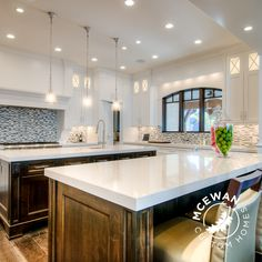 Double islands with a #hidden #pantry door that leads into a large pantry/prep area really is the icing on the cake, or in this case the kitchen! l McEwan Custom Homes #hidden #details #homes #homes #homebuilder #homebuilding #homedesign #design #custom #custombuilder #customhomes #customhome #customdesign #utahcounty #utahbuilder #utah Galaxie Lighting cooper cooper Valley Electric Mingli Yuan Land Design Dave Donegan Plumbing Tyler Pilgrim Stone Shop Utah Yusuke Hirano Plumbing Mingli Yuan…